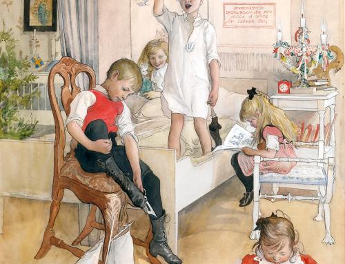 På juldagsmorgon av Carl Larsson